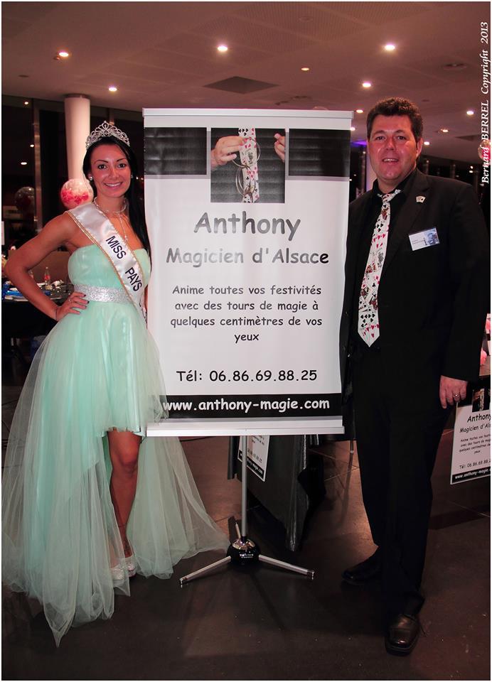 Anthony et Miss Pays d'Alsace 2013
