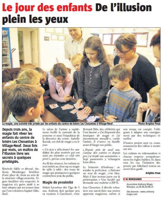 L'Alsace du 20.05.209