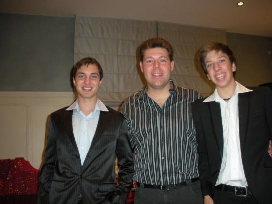 Anthony avec Gaspar et Nico