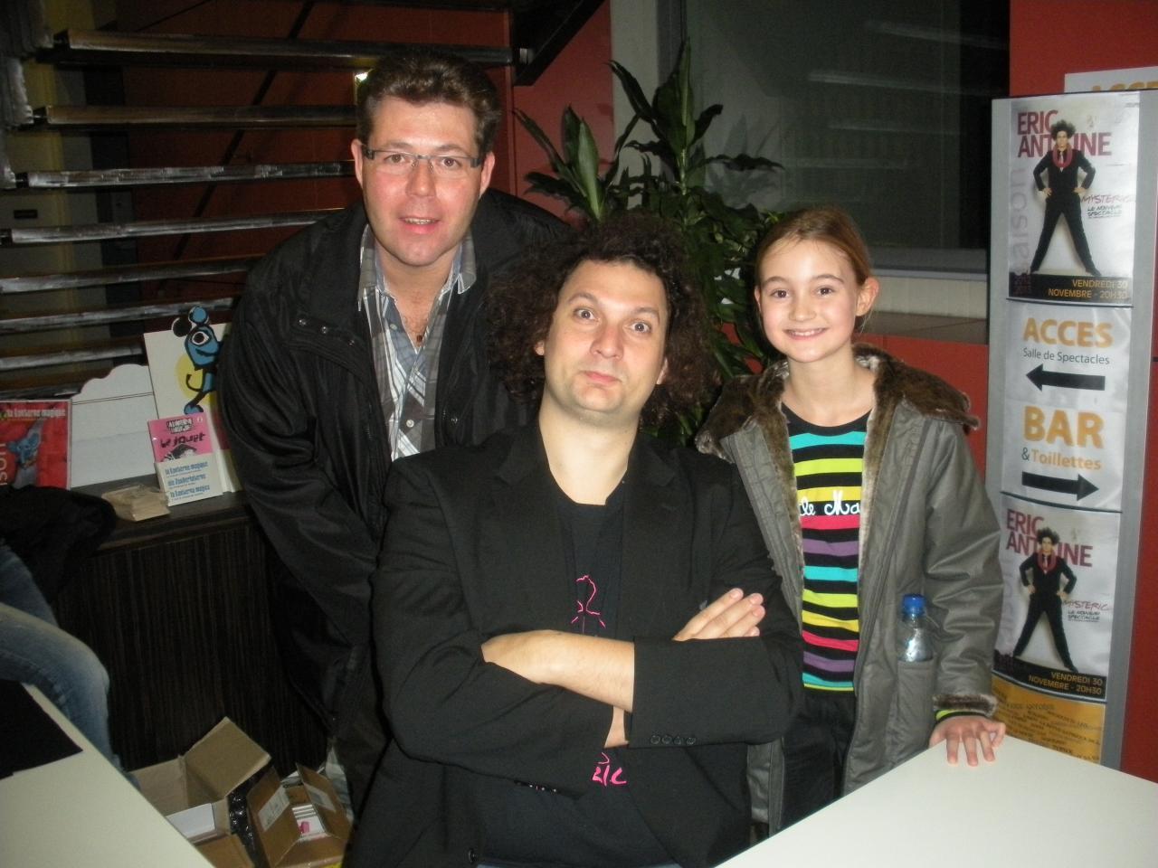 Anthony avec Eric Antoine