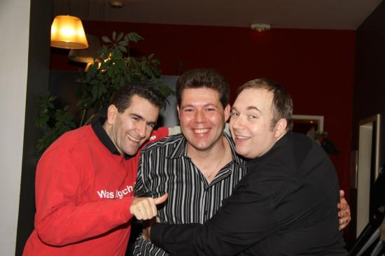 Anthony avec Almi et Salvi