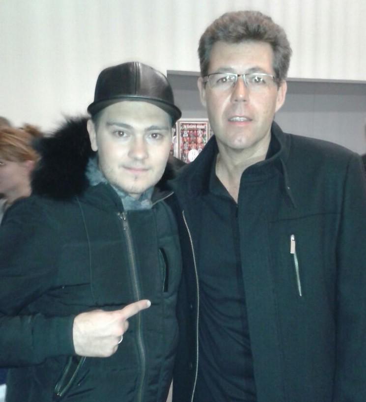 Anthony avec Jeff Panacloc